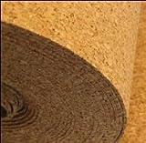 30 m² 2 mm IHK - Kork Trittschalldämmung - Dämmunterlage - Größe: 30 m x 1 m x 2 mm