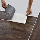 neu.holz Bodenbelag Selbstklebend 5,85 m² 'Smoked Oak' Vinyl Laminat 42 rutschfeste Dekor-Dielen für Fußbodenheizung