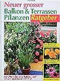 Neuer grosser Balkon- und Terrassenpflanzen-Ratgeber: Die 200 schönsten Balkon- und Terrassenpflanzen von A-Z. Mit Gärtnertipps und Pflegeanleitungen