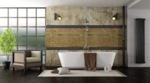 Ein schickes Badezimmer ist ein Blickfang in jeder Wohnung.