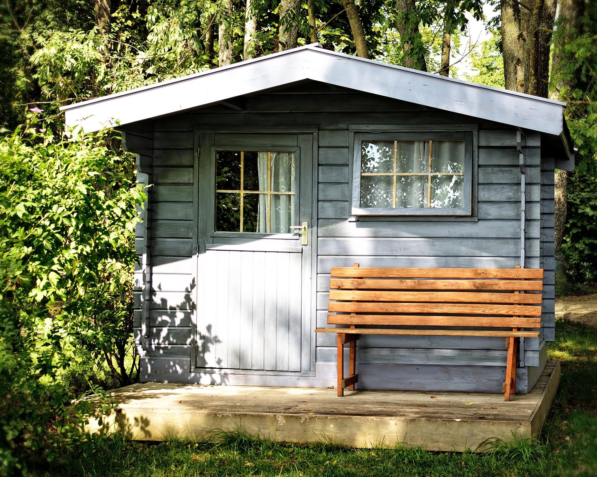 Ein Gartenhaus aus Holz gibt emotionale Wärme. Foto Antranias/5178 images/Pixabay