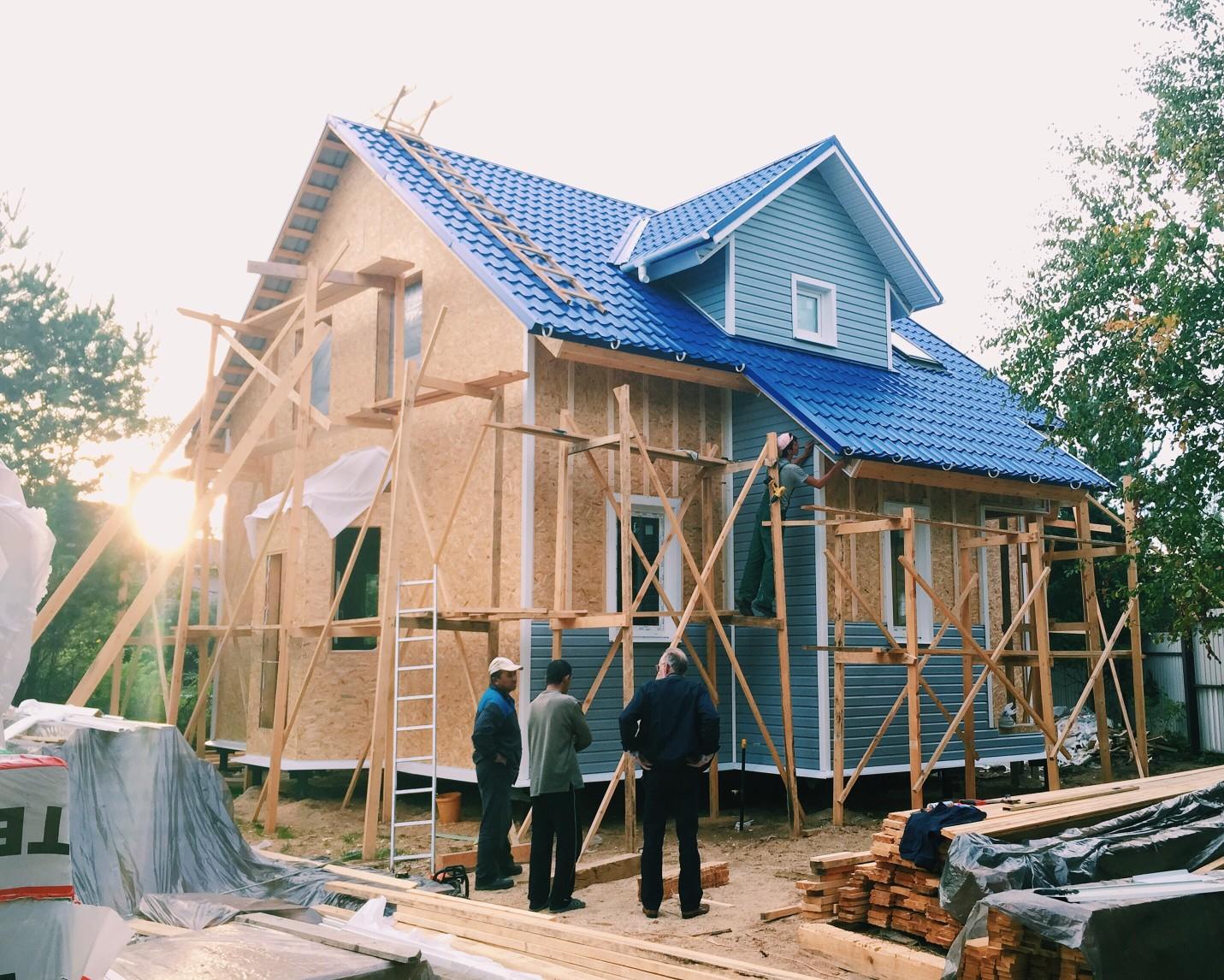 Für den Hausbau gibt es zahlreiche staatliche Förderungen. Foto @lidsspb via Twenty20