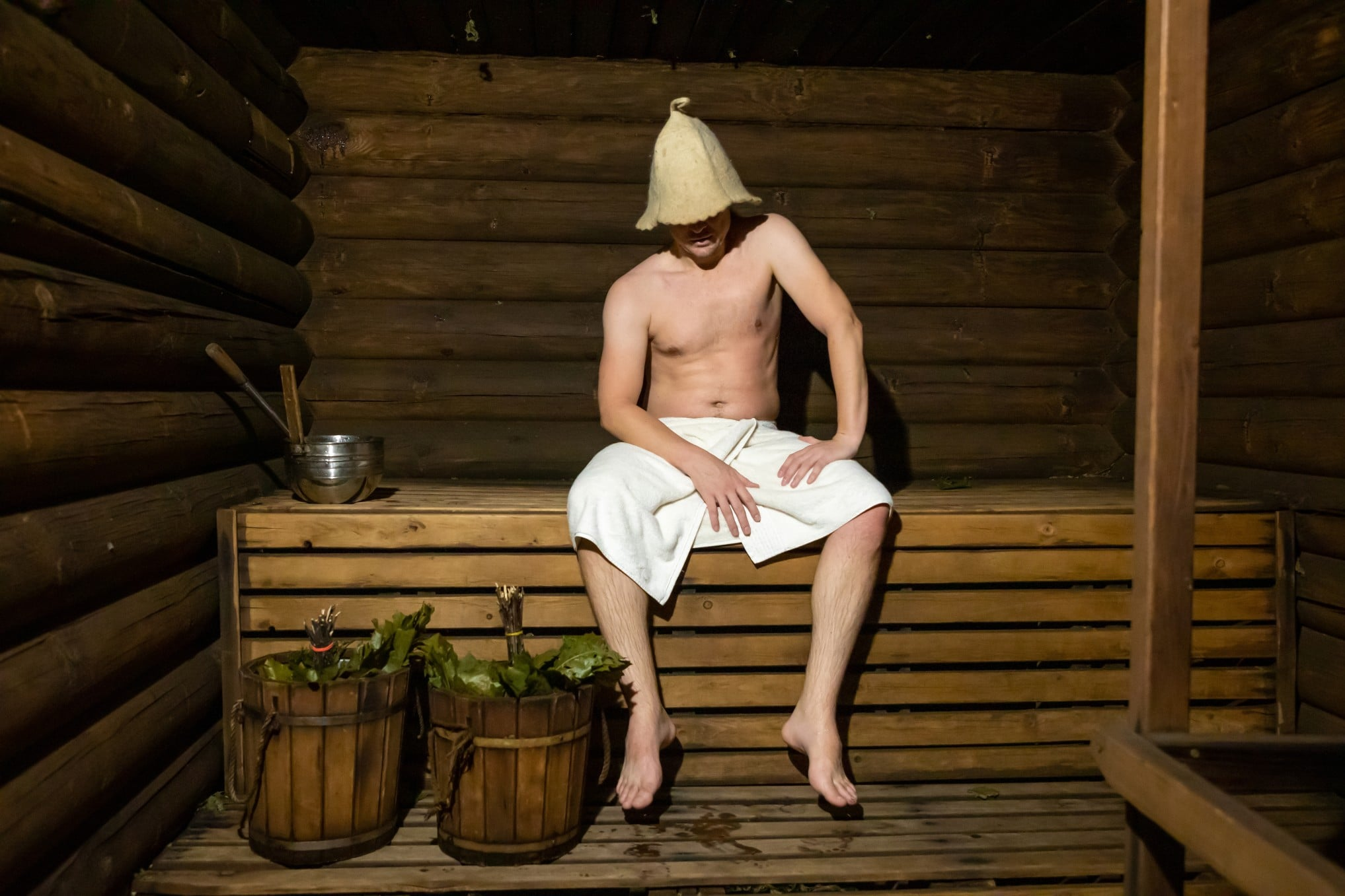 Eine Sauna daheim bringt Entspannung und Wohlbefinden. Foto: tdyuvbanova via Twenty20